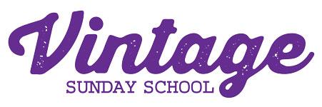 Vintage sunday school